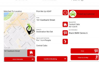 Central Cabs Android App!