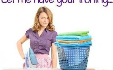 Get a helping hand with ironing!