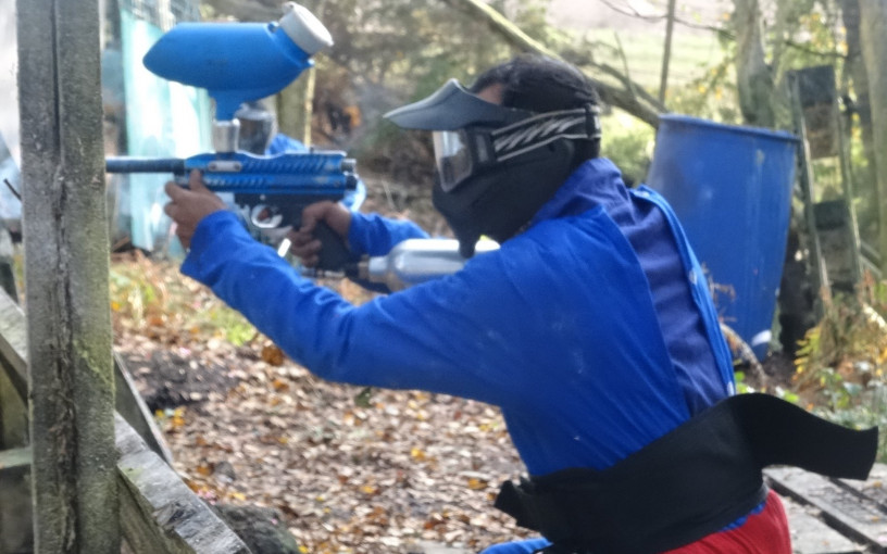 Paintball with 500 paintballs image 3